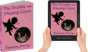 Cupid print and ebook with hands